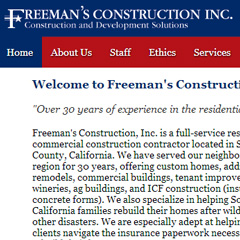 Freeman Construction, Inc